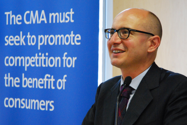 Andrea Coscelli, CEO of the CMA
