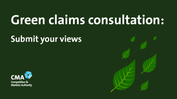 Green claims consultation: Submit your views