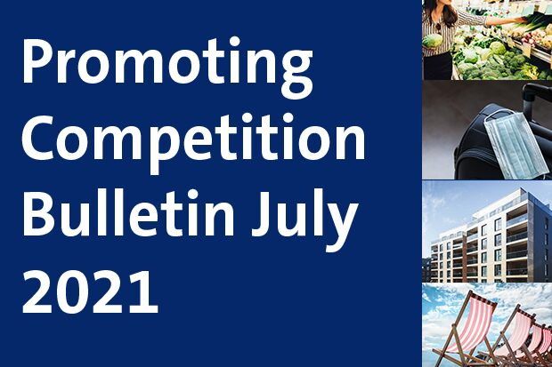 Promoting Competition Bulletin July 2021